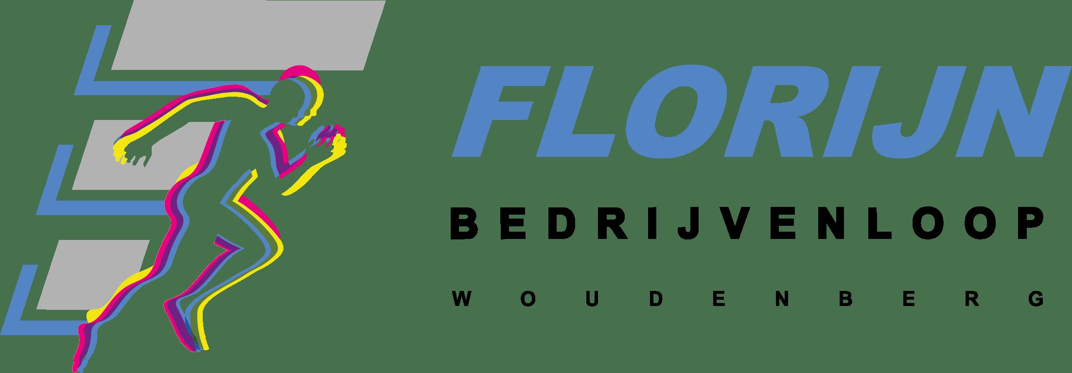 Het logo van de Florijn Bedrijvenloop.
